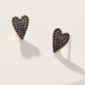 Stella & Dot *Delicate Heart* Pierced Earrings